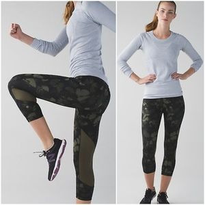 RARE Lululemon Biggie Butterfly Pace Rival Crop